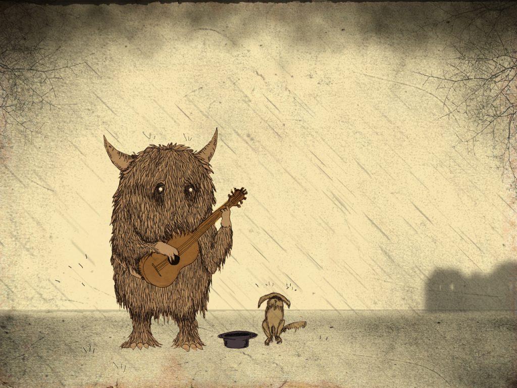 Titel: Musik und Regen